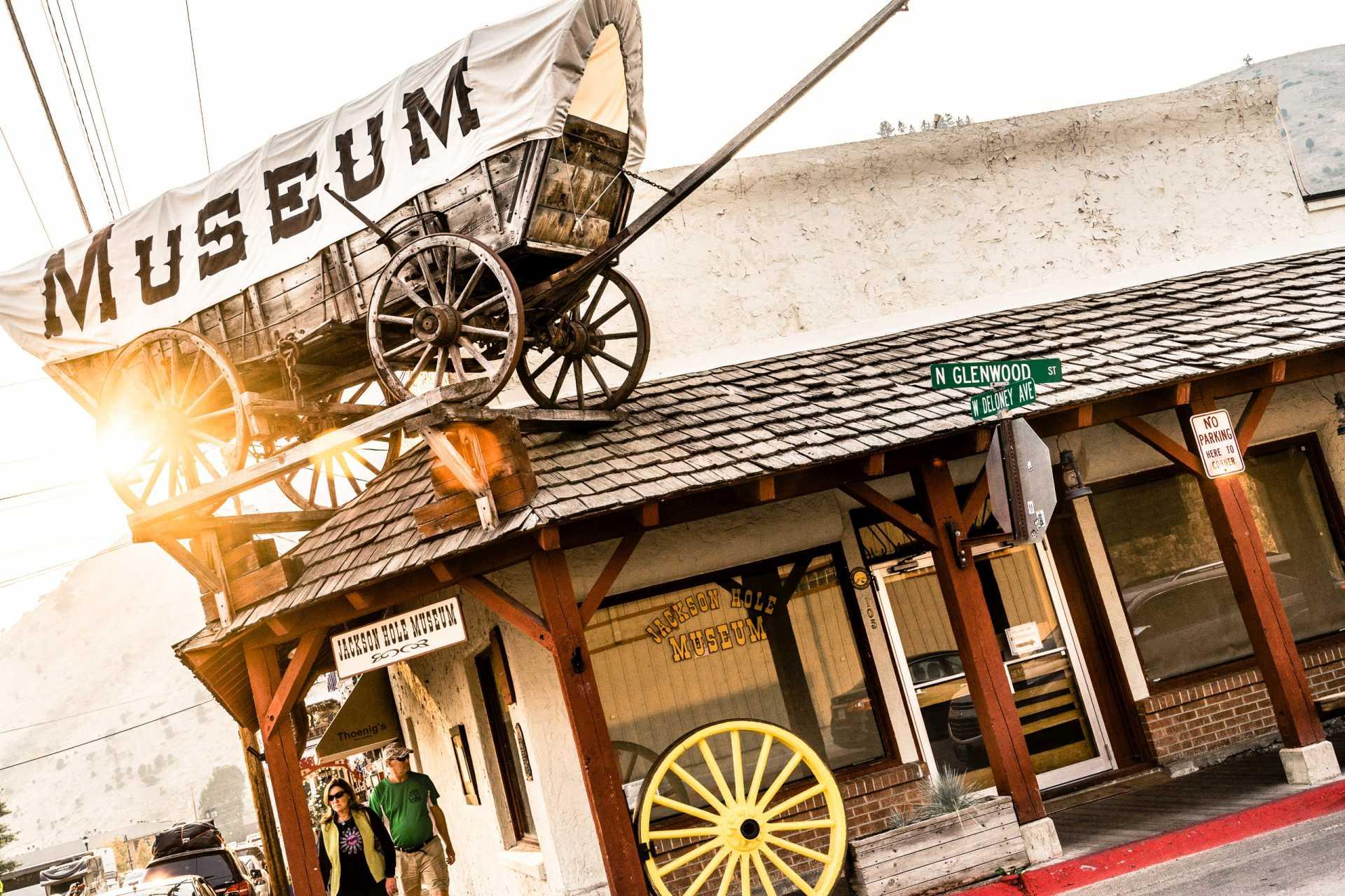 USA Jackson Wild west