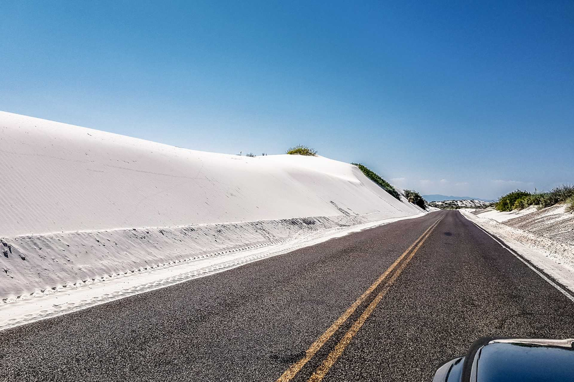 USA White Sands Desert