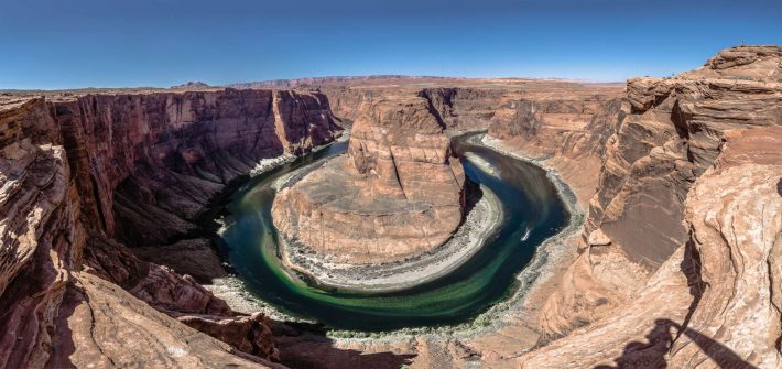 USA Horseshoe bend Panorama