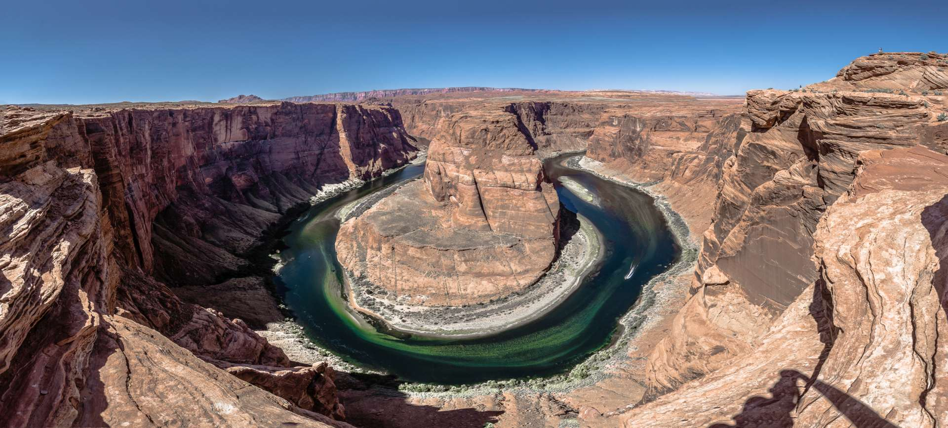 USA Horseshoe bend Panorama