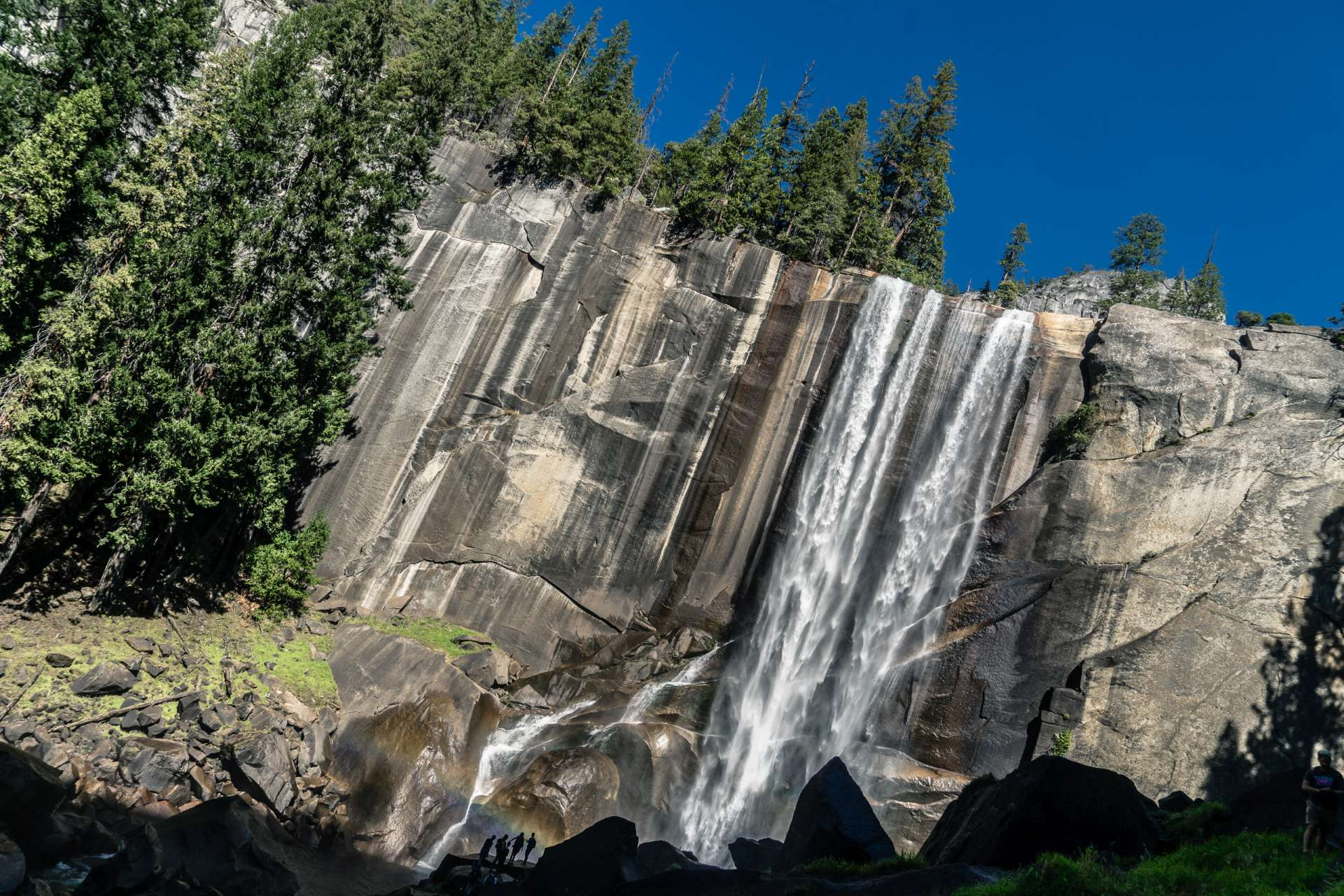 USA Yosemite Waterfall