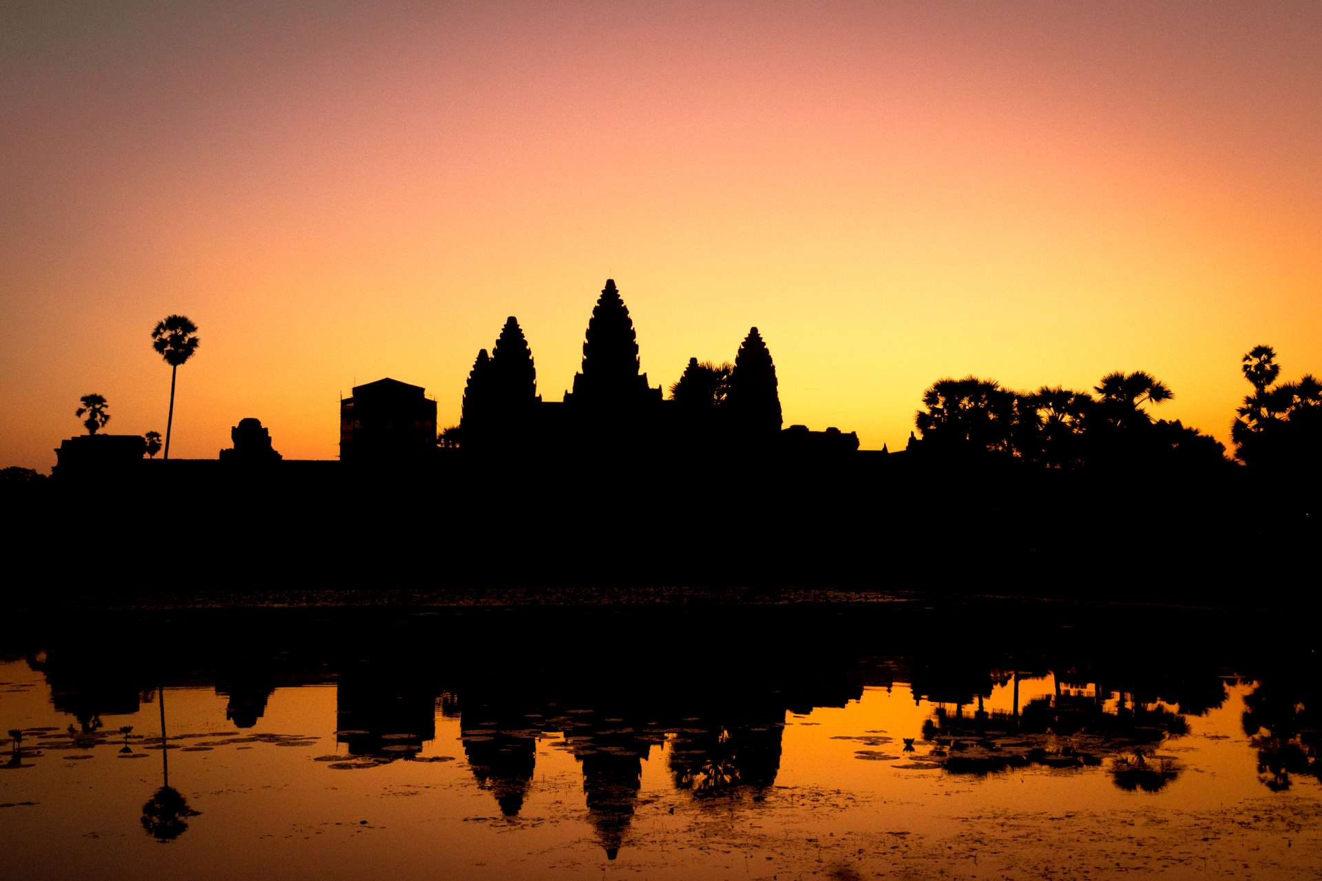 Cambodia Angkor Wat sunrise