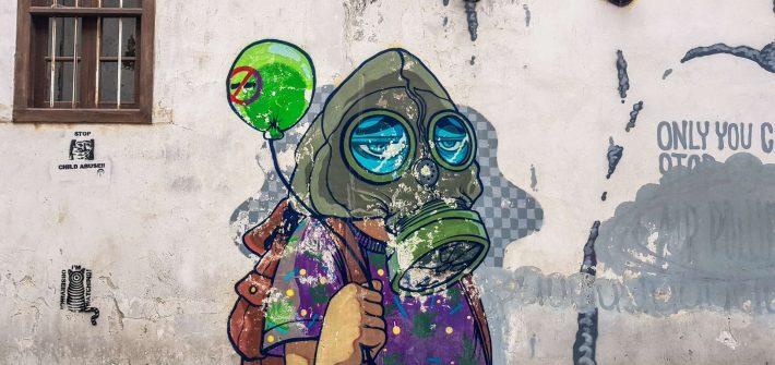 Malaysia Penang Graffiti