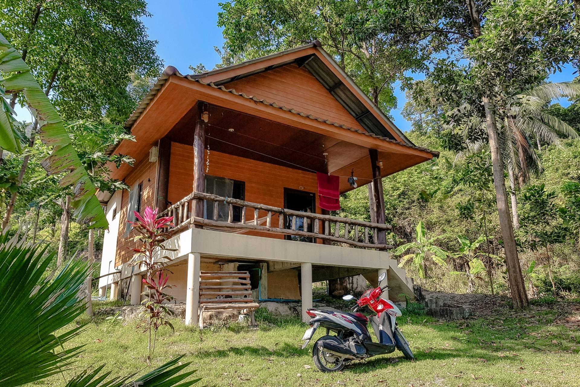 thailand koh phangan house bike