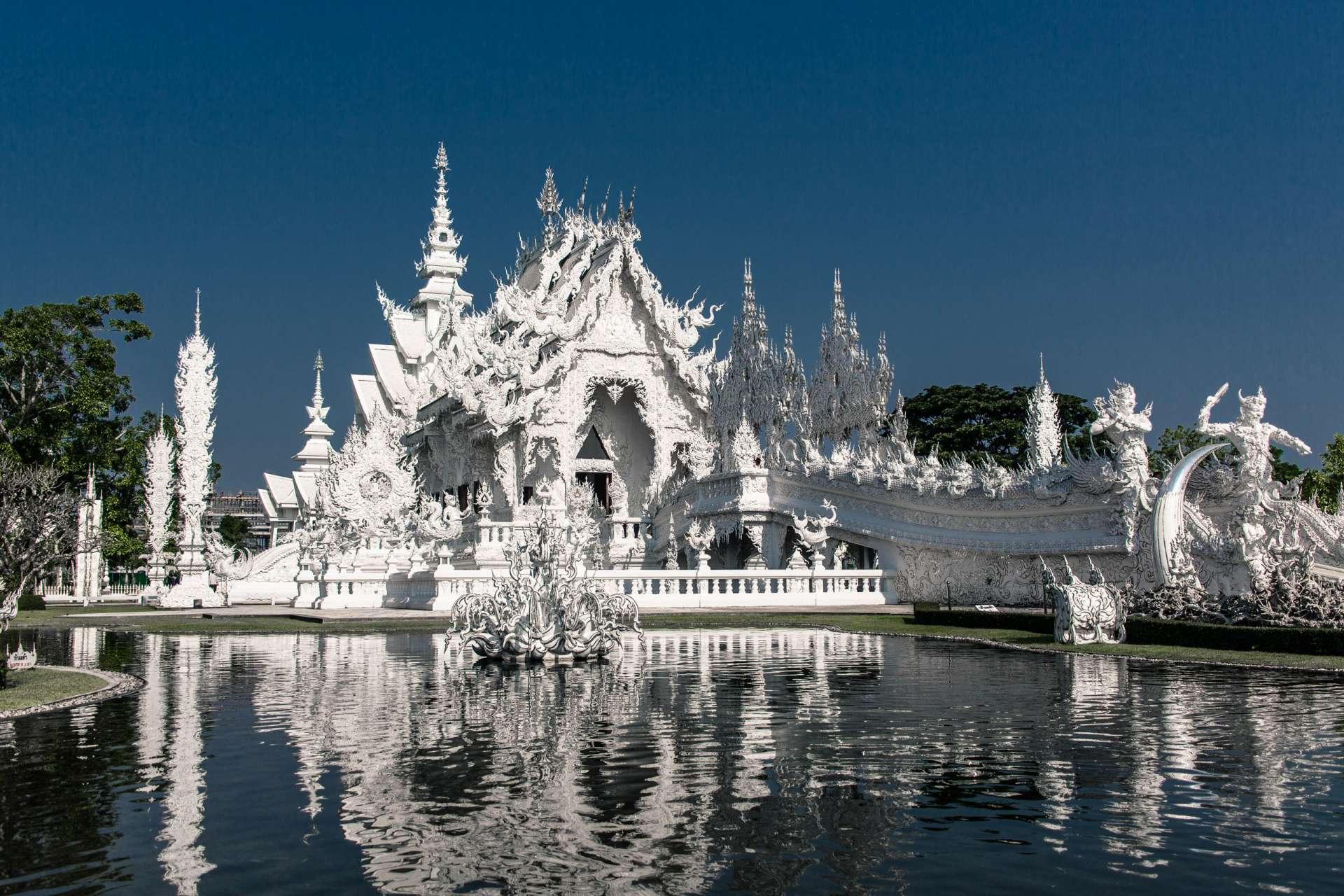 Thailand Chiang Rai White Temple