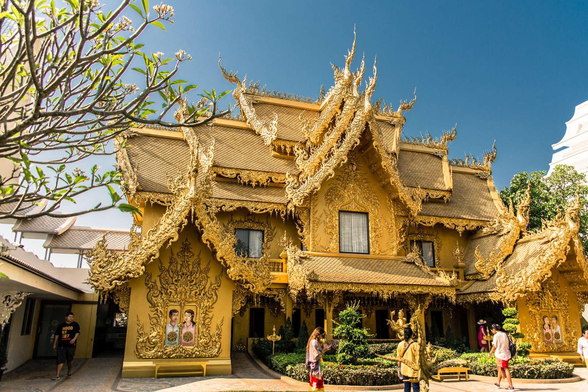 Thailand Chiang Rai White Temple Toilet