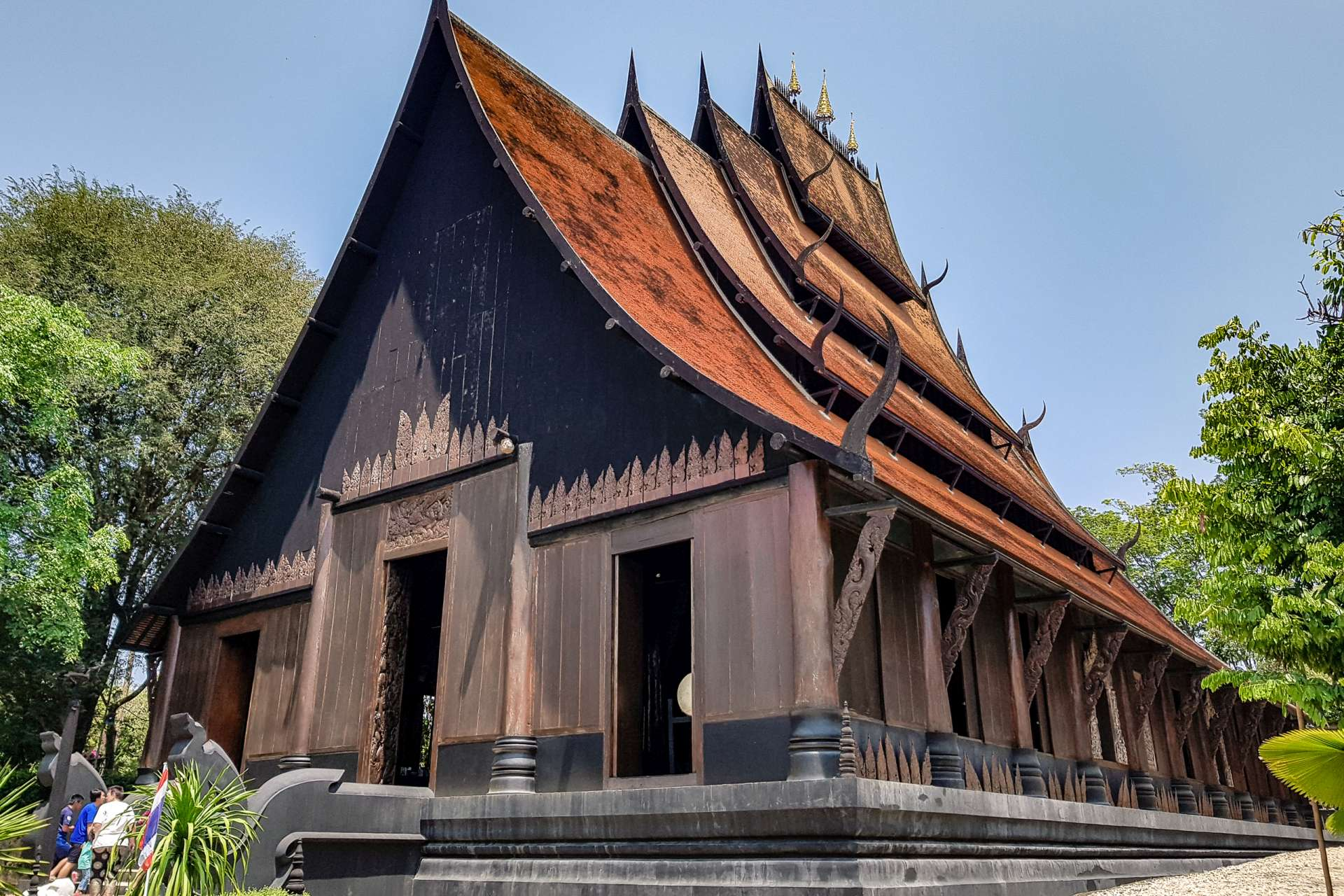 Thailand Chiang Rai black magic house