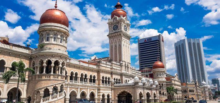 Malaysia Kuala Lumpur Sultan Abdul Samad Jamek Mosque