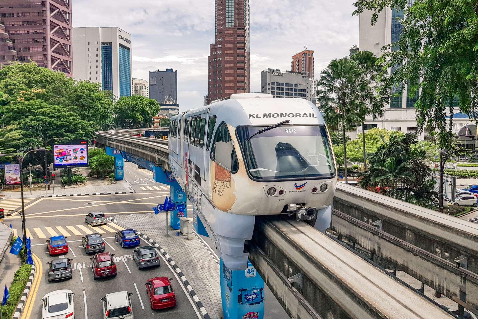 Malaysia Kuala Lumpur monorail