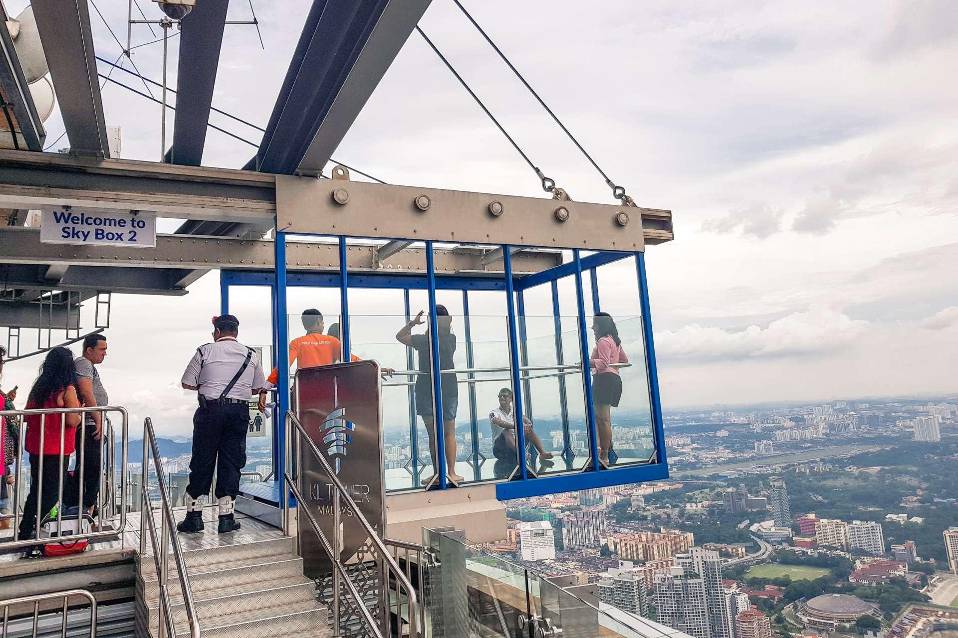 Malaysia Kuala Lumpur sky box