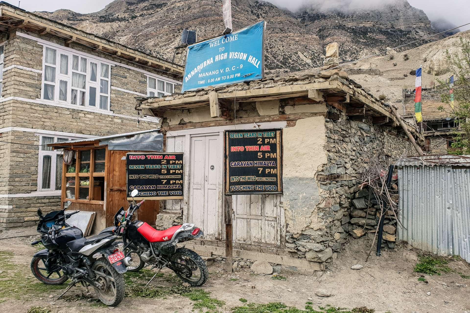 Nepal Annapurna Circuit trekking cinema