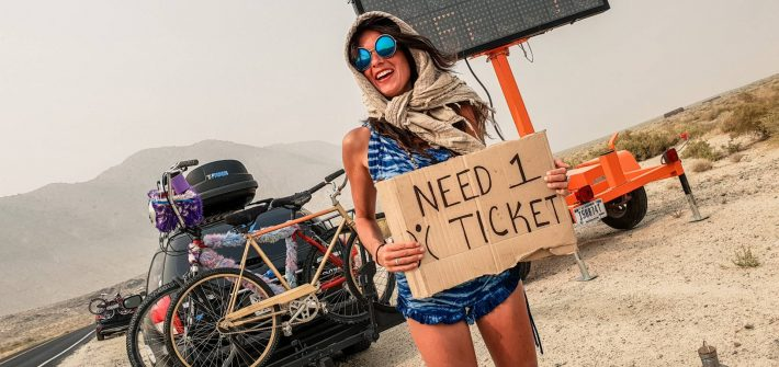 Burning Man ticket