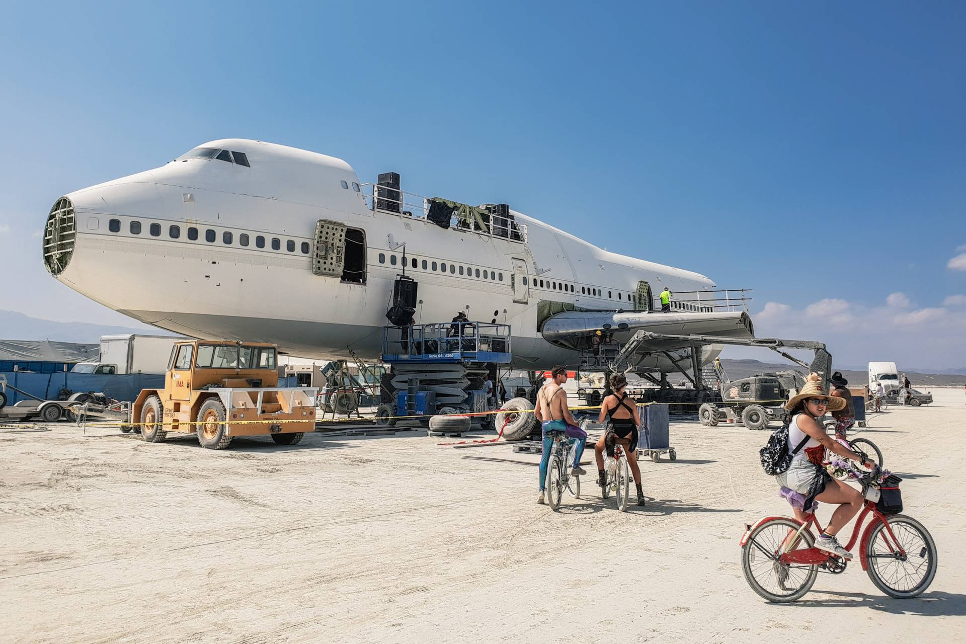 USA Burning Man 2018 Boeing