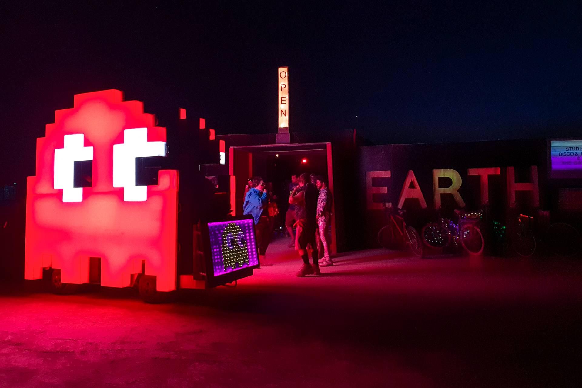 Burning Man 2018 Pacman