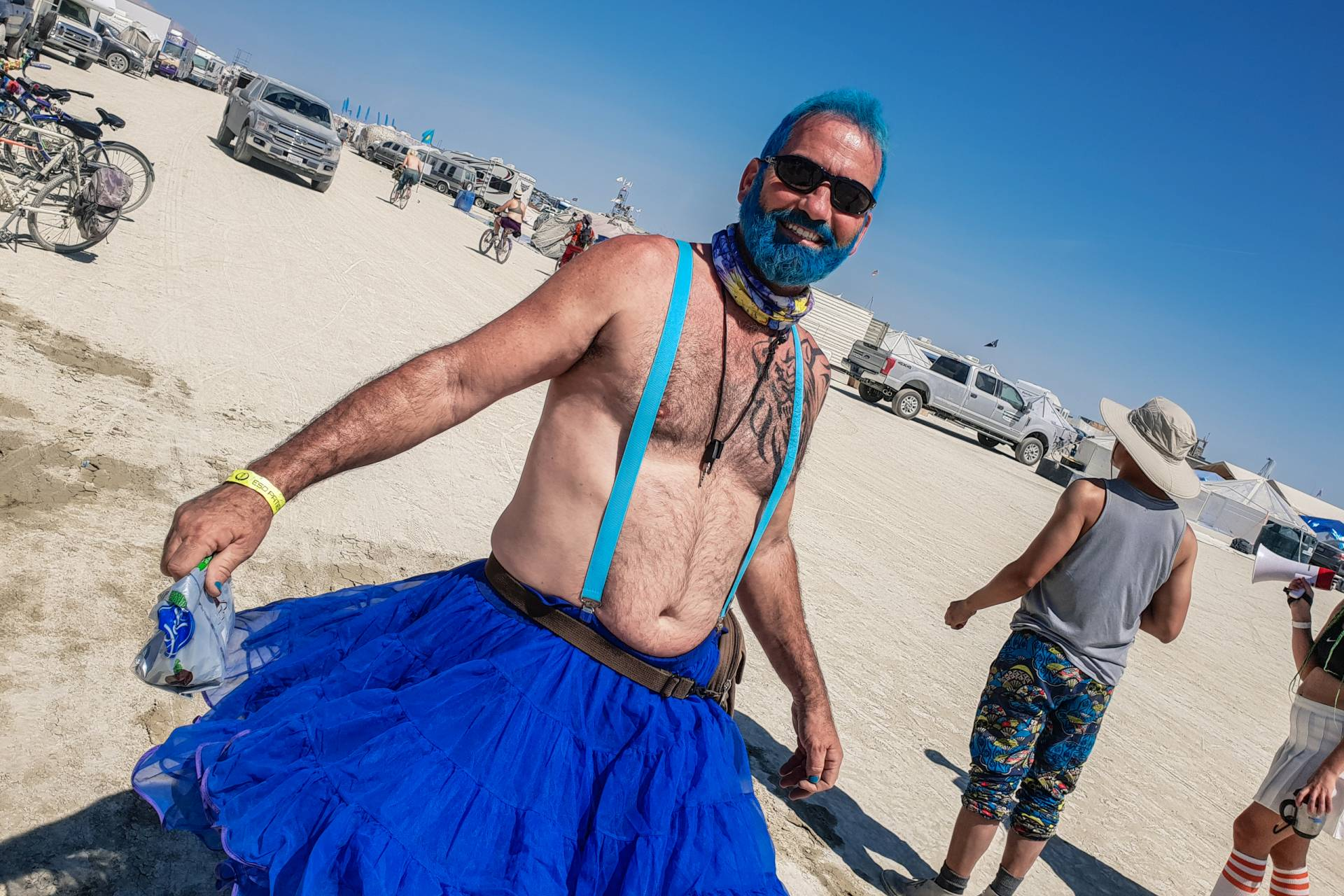 USA Burning Man 2018 Tutu day