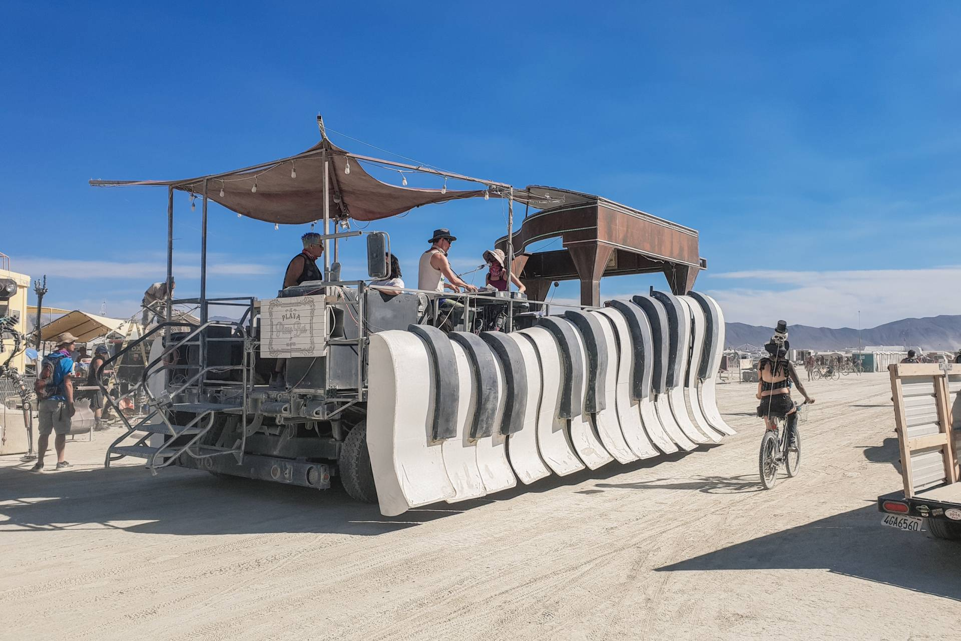 USA Burning Man 2018 piano