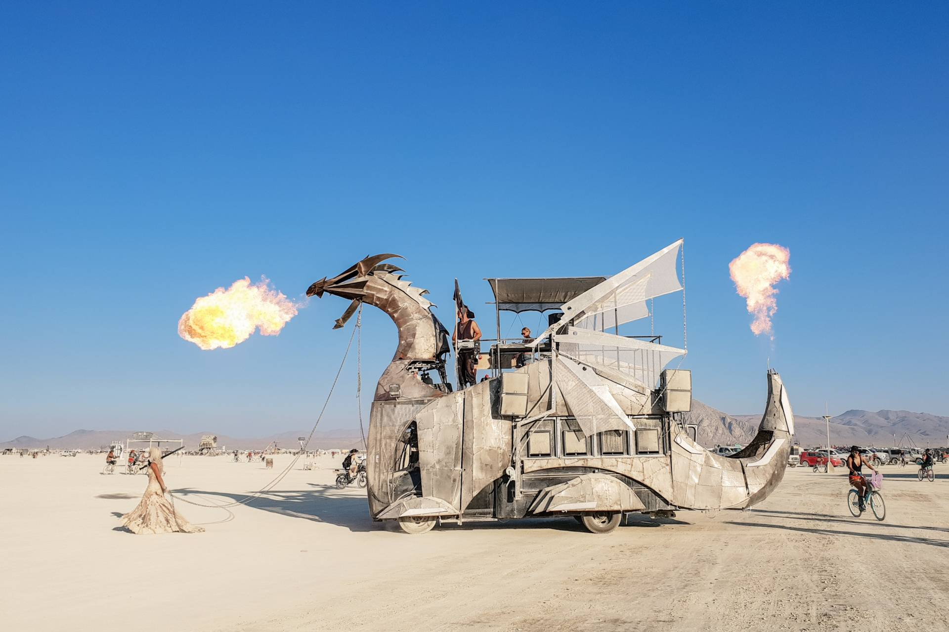 Burning Man 2018 Dragon