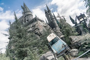 USA Universal Studios Hollywood Hogwarts