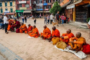 Nepal Kathmandu Boudhanath stupa